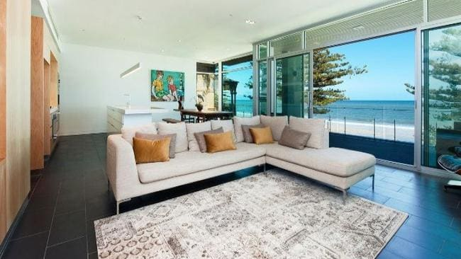 A Glenelg unit with a price guide between $2.5 million and $2.6 million. Picture: realestate.com.au