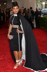 """Janelle Monae attends the Met Gala 2015 """"China: Through The Looking Glass"""". Picture: Getty"""