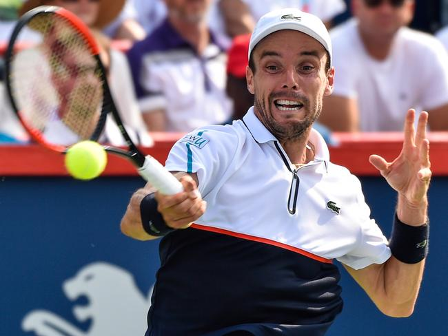 Roberto Bautista Agut was no match for Roger Federer.