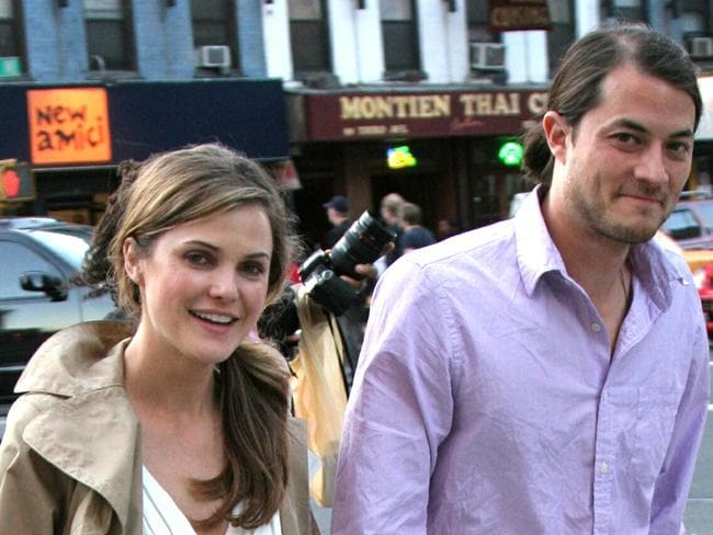 First husband ... Keri Russell and Shane Deary in happier times. Picture: Splash