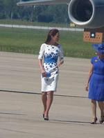 Kate, Duchess of Cambridge in Queensland. Photo from Twitter