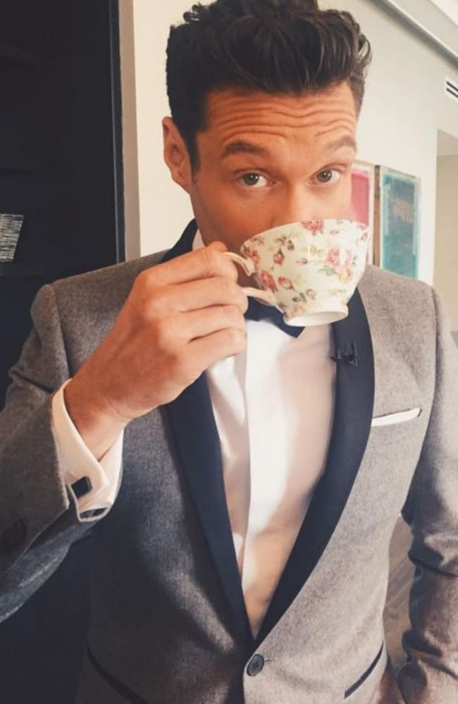 Seacrest in a picture from his social media account. Picture: Instagram