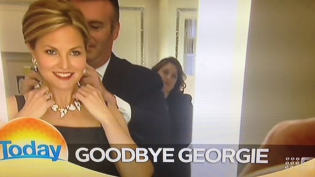 The Today Show farewell Georgie Gardner