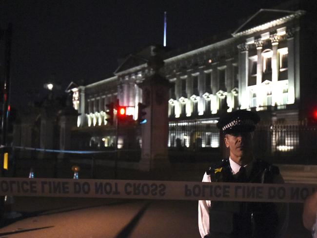 Buckingham Palace has been the site of a number of security-related incidents in the past. Picture: Lauren Hurley/PA via AP