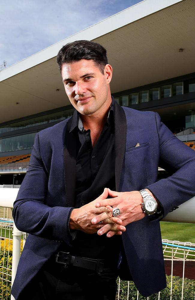 The Bachelorette and Bachelor in Paradise's Apollo Jackson will be a guest at this Saturday's Girls Day Out Race Day at Doomben racecourse. Picture: Adam Head