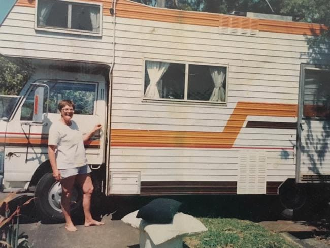 The 81-year-old spent time living in this motorhome.