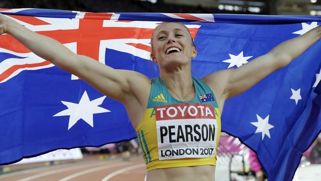 Sally Pearson is top of the 100m hurdles world yet again.