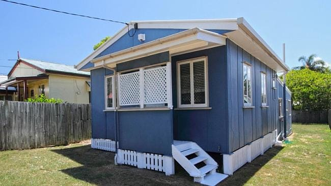 CHEAP and cheerful at 105 Dover Rd, Redcliffe is priced at $279,000. Picture: supplied re