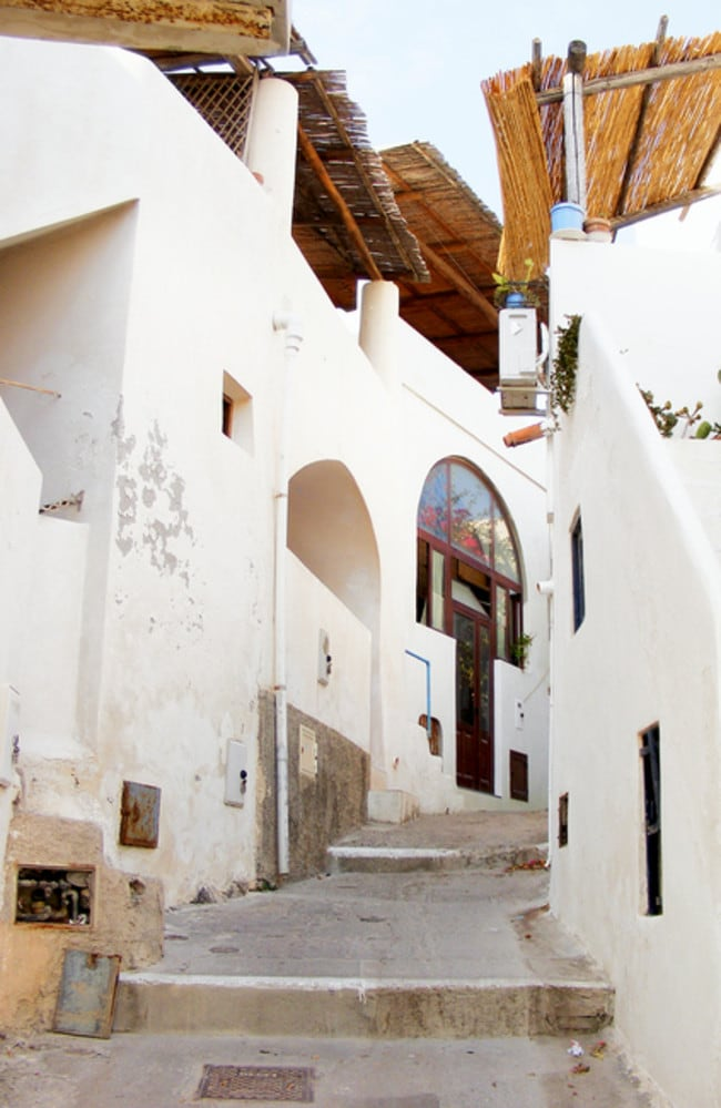 Alicudi is the smallest and least populated of the Aeolian islands.