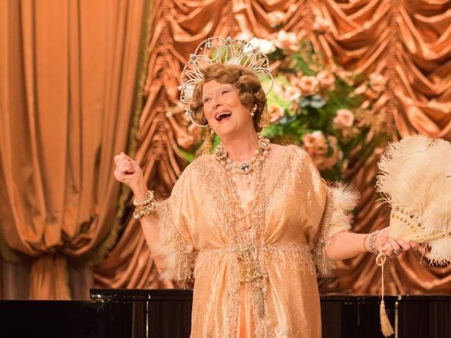Streep is nominated for her role in Florence Foster Jenkins.