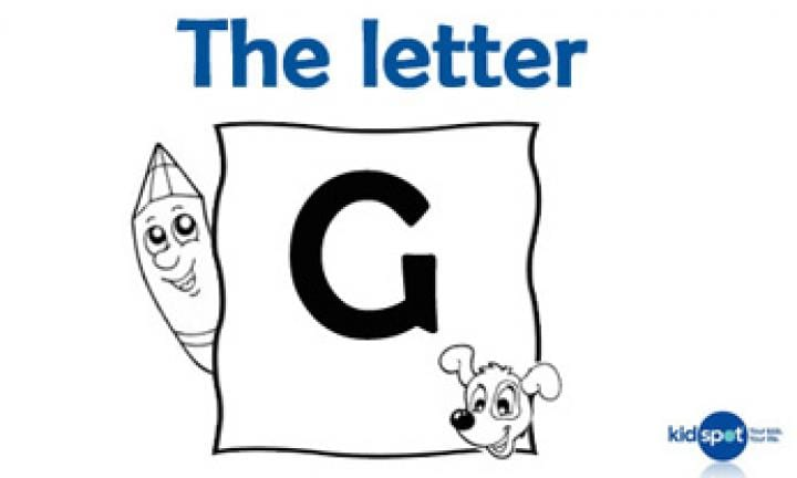 Learning the ABC: The letter G