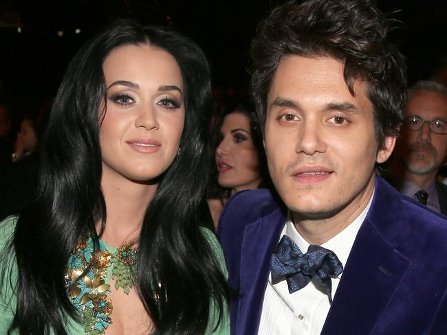 All over ... Katy Pery was in an on/off relationship with musician John Mayer for two years. Picture: Christopher Polk/Getty Images for NARAS