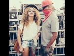 COACHELLA 2014: American performers Beyonce and husband Jay-Z. Picture: Instagram