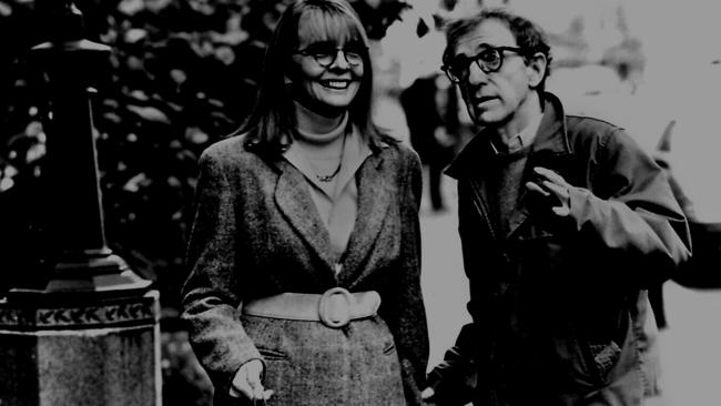 Back in time: Diane Keaton and Woody Allen in 1994 film,  <i>Manhattan Murder Mystery</i>.