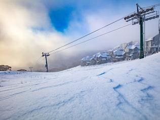 Snowy morning at Mt Hotham. Picture Supplied by Mt Hotham