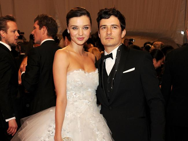 Star power ... Miranda Kerr and Orlando Bloom were married for three years. They separated in 2013. Picture: Larry Busacca/Getty Images North America