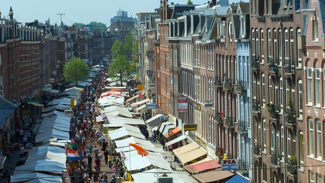 Albert Cuyp Market, Amsterdam. Picture: Alamy