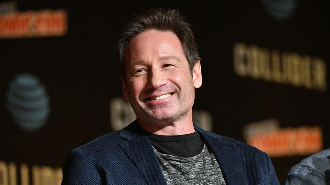 David Duchovny also claims he was addicted to sex. Source: Getty Images.