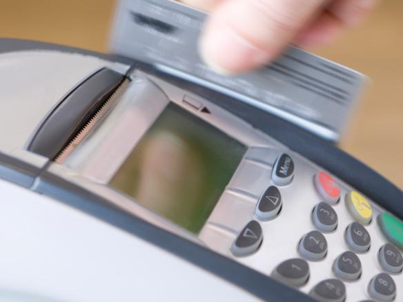 Excessive card charges to go