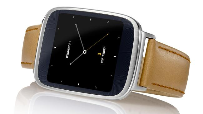 New player ... Asus enters the market with the Zen Watch.
