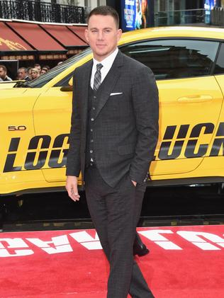Channing Tatum arriving at the 'Logan Lucky' UK premiere held at Vue West End, London. Picture: Stuart C. Wilson/Getty Images