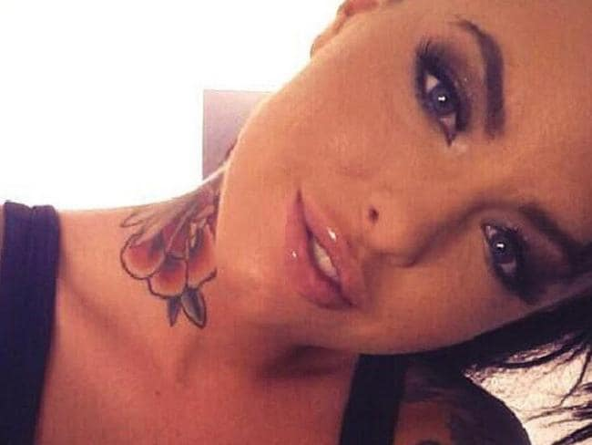 Adult film actress Christy Mack.