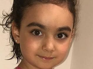 An amber alert has been issued after this little girl went missing from a childcare centre. Picture: Supplied
