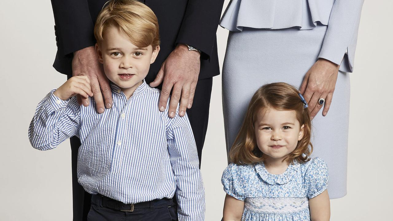 william kate use months old picture for christmas card