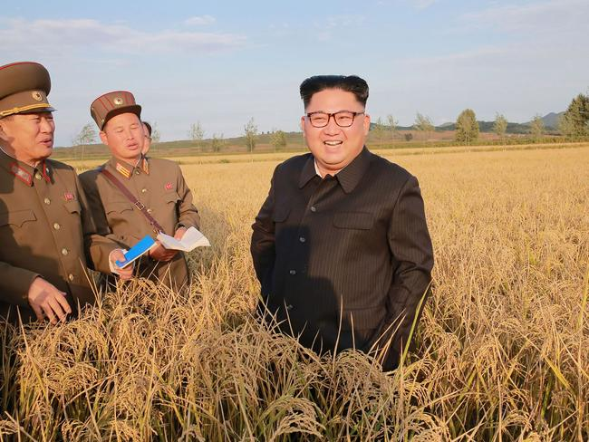Ri Jong-ho says Kim Jong-un's is a 'failed leadership'. Picture: AFP/KCNA via KNS