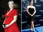 Gorgeous Kate Winslet and husband Ned Rocknroll welcomed son Bear Blaze Winslet on December 7, 2013. Winslet looks healthy and happy as she attends the 'Prix de Diane Longines 2014' at Hippodrome de Chantilly on June 15, 2014 in Chantilly, France. Picture: Getty
