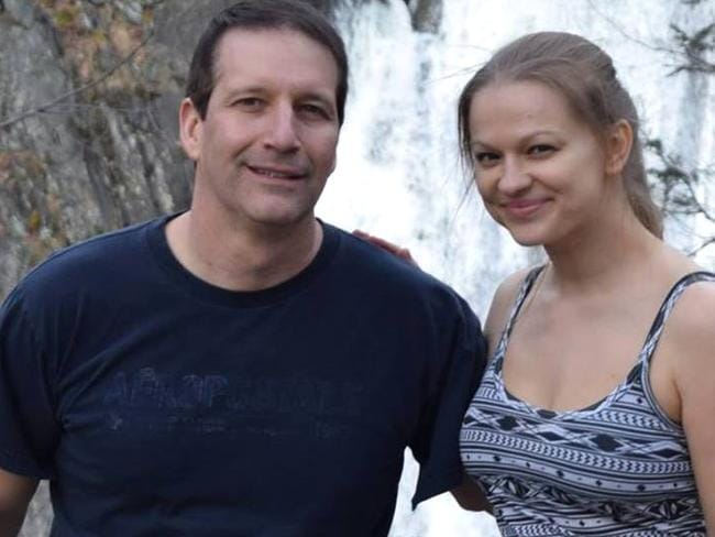 Angelika Graswald admitted that she pulled the plug from fiance Vincent Viafore's kayak. Picture: Facebook