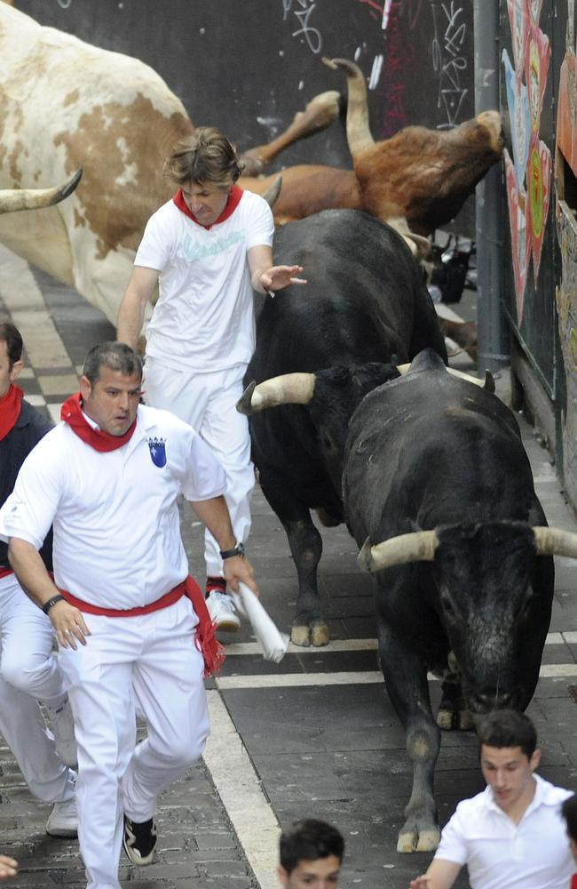 It is a harrowing event for the bulls as well.