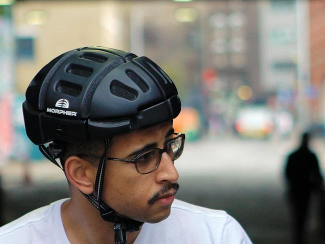 Morpher's foldable helmet tech doesn't come cheap.