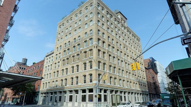 The late James Gandolfini has left his son a condominium in this Greenwich Street building in Tribeca, New York.