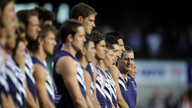 Ross Lyon and his Dockers.