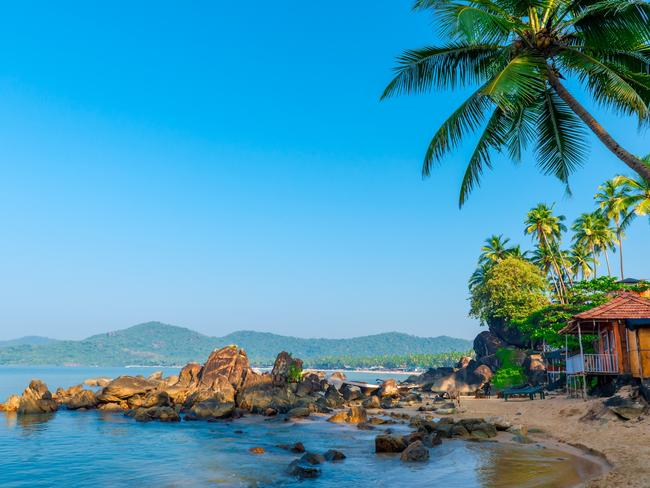 There is beauty in Goa.
