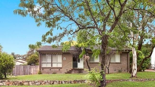 THE house at 17 Pridham St, Farrer was one of only a few to be auctioned in The ACT on the weekend. Picture: realestate.com.au