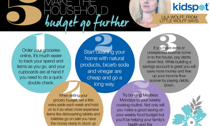 5 easy ways to stretch your budget: #amonthofeasy