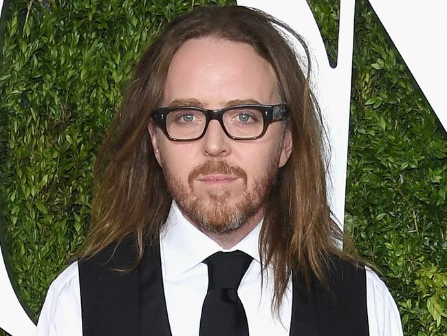 Tim Minchin on the red carpet ahead of the awards. Picture: Dimitrios Kambouris/Getty.