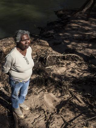 Marie Allen, Wardaman (NT) traditional owner and member of the stolen generation.