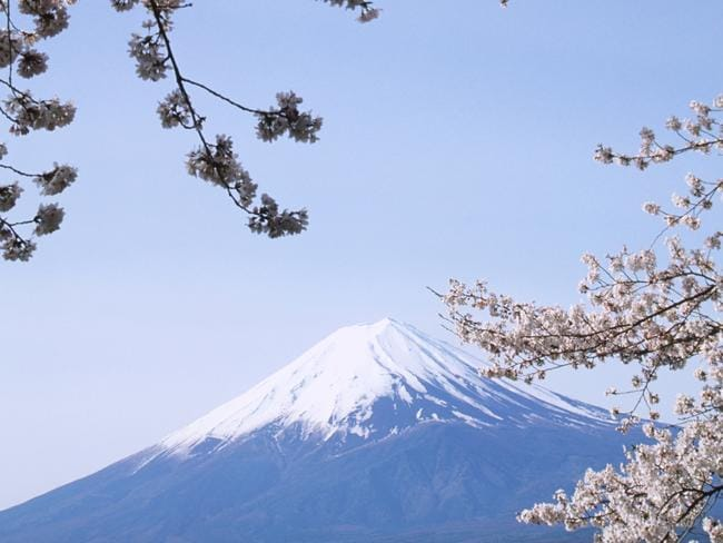 Mt Fuji is one of Japan's most popular spots.