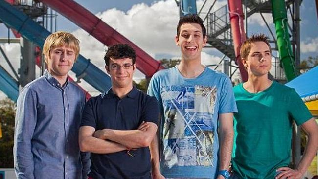 The Inbetweeners's first stop in Australia was the Wet'n'Wild water park ...