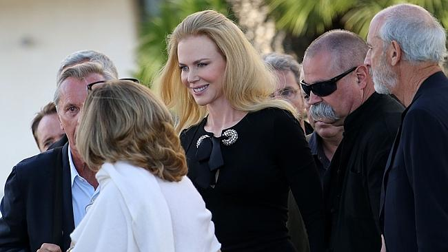 Stunning ... Nicole Kidman is the picture of elegance as she makes a grand entrance in Cannes.