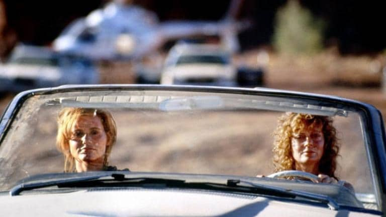 The female escapees have sparked comparisons to the Thelma and Louise movie.