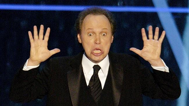 Billy Crystal performs his opening monologue at the 76th annual Academy Awards in 2004.
