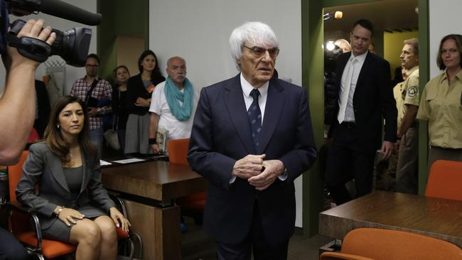Ecclestone said the end of the trial will allow him to devote all his time to Formula 1.