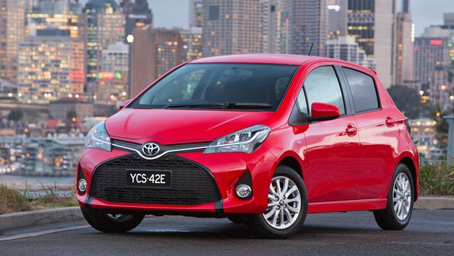 Wheels of fortune ... Top of the range Yaris wheels are $1000 each. Photo: Supplied