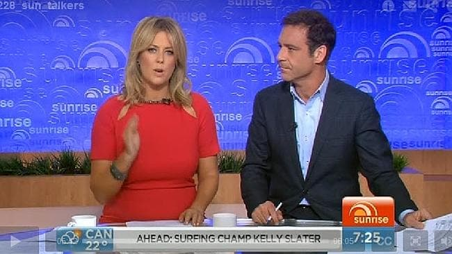 Sam Armytage and Andrew O'Keefe had a heated discussion with former Victorian Premier Jeff Kennett over Qantas job cuts on Sunrise.