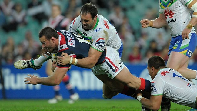 Boyd Cordner suffered an ankle injury against the Sharks.