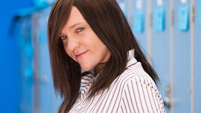 Chris Lilley in character for